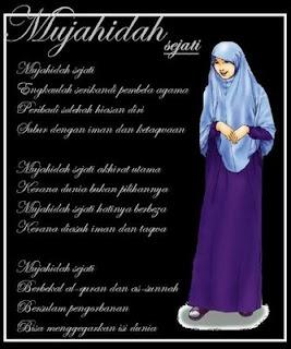 Gambar  Untaian kata Mutiara untuk wanitaMuslimah